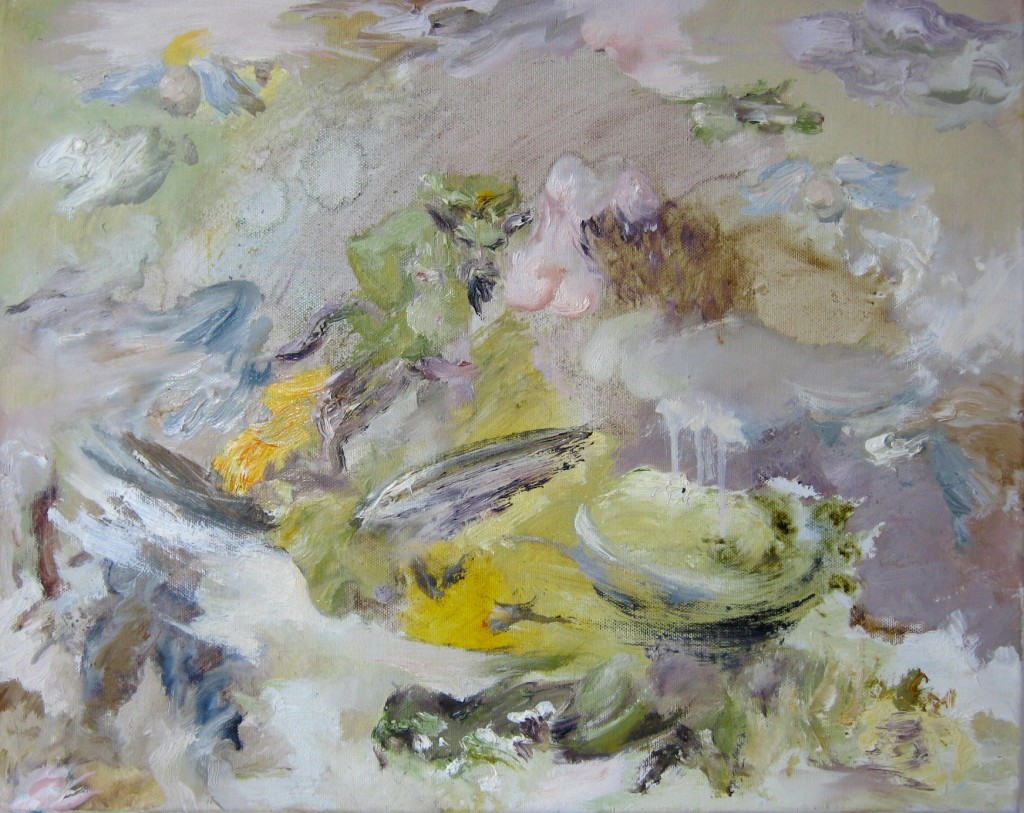 Ode to Joy, 2010. Oil on canvas, 40x50cm