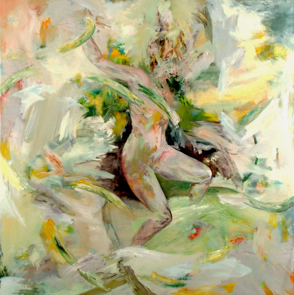 Struggle (after Laokou00F6n), 2010 Oil on canvas 200x200cm