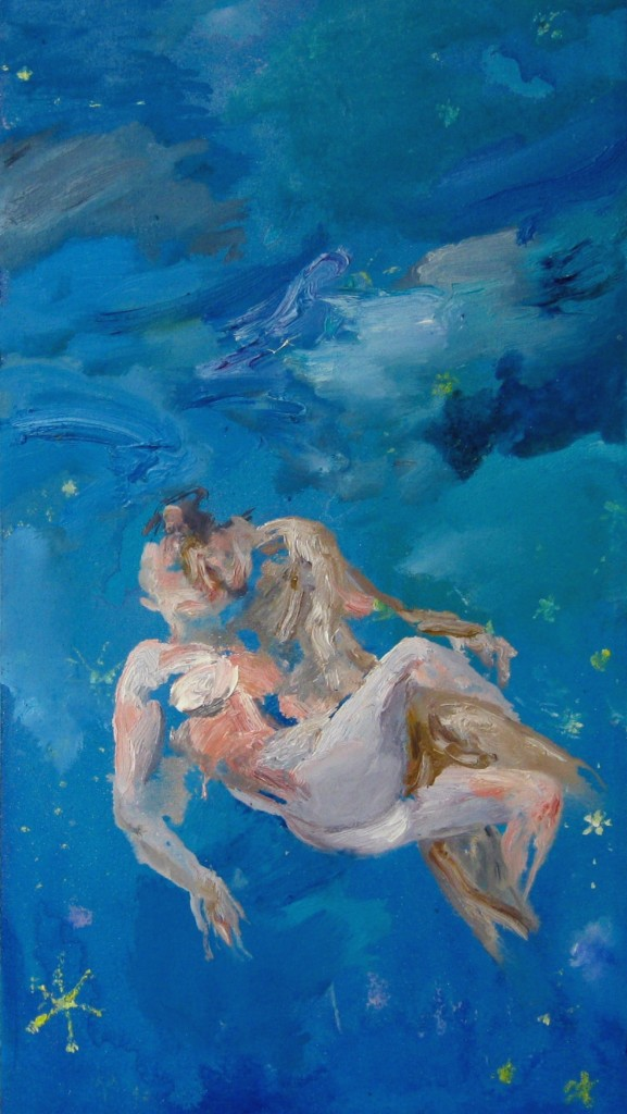 Starry Starry Night, 2010 Oil on canvas 45x25cm