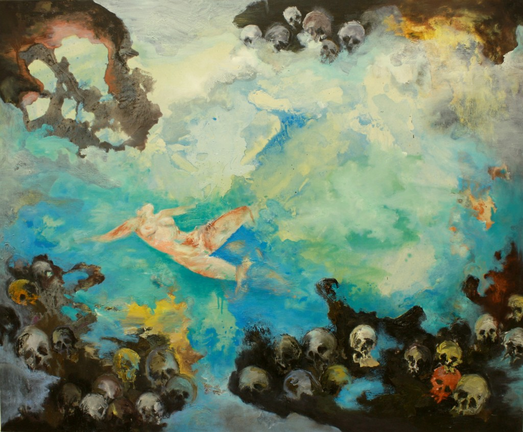 Let Go, 2011 Oil on canvas 95x115cm