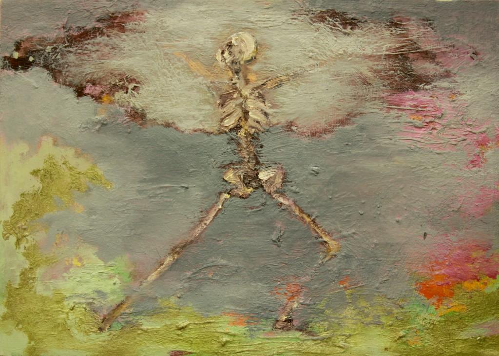 Mushroom Cloud Dance, 2011 Oil on canvas 25x35cm