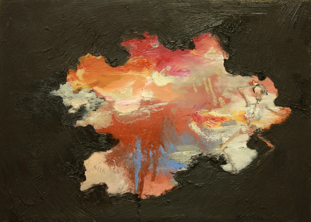 Sunset, 2011 Oil on canvas 25x30cm