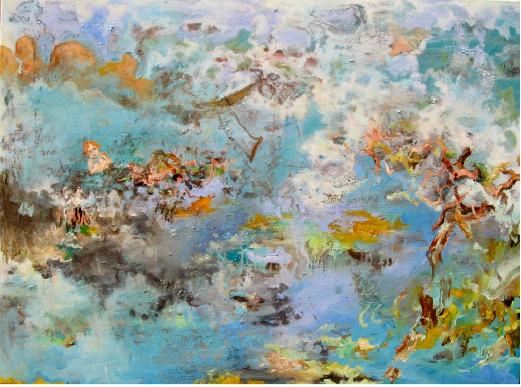 Dreamy Shelter, 2014 Oil on canvas 105x140cm