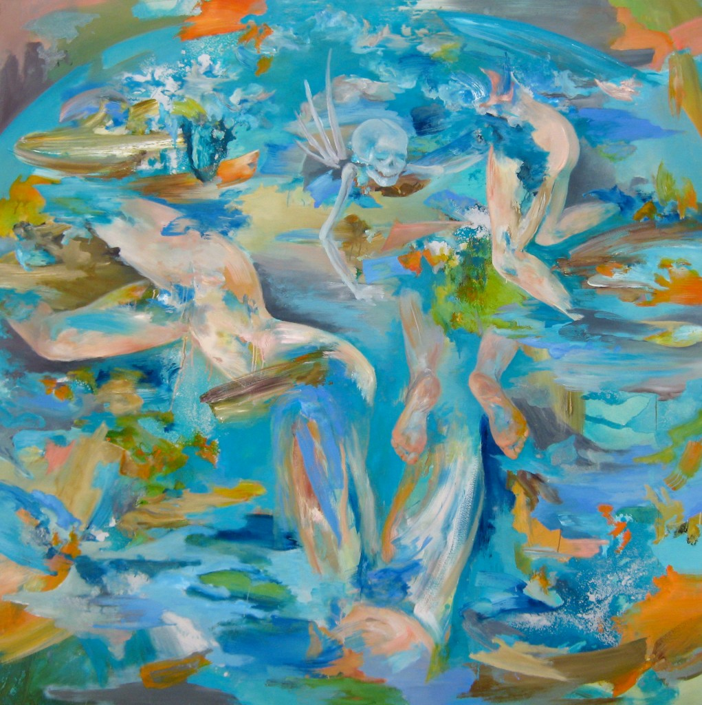 Balkan Baroque, 2010 Oil on canvas 190x190cm