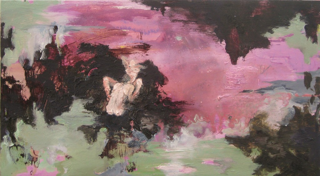 Juicy Pink, 2011 Oil on canvas 25x45cm