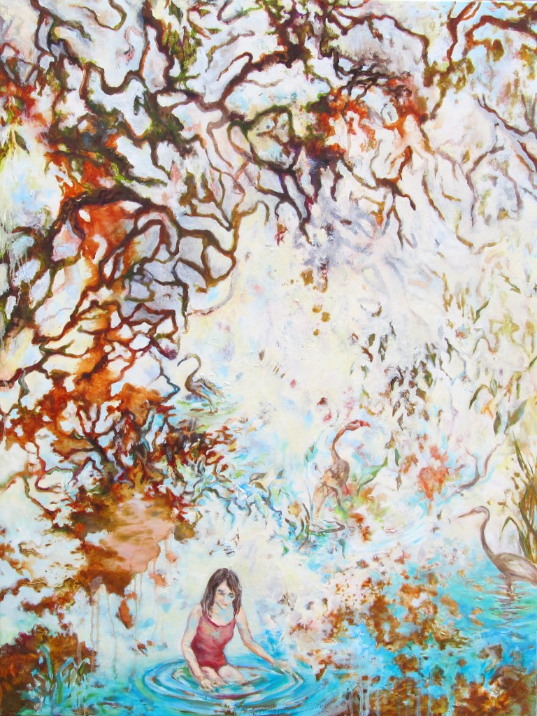 Roots, 2015 Oil on canvas 140x105cm