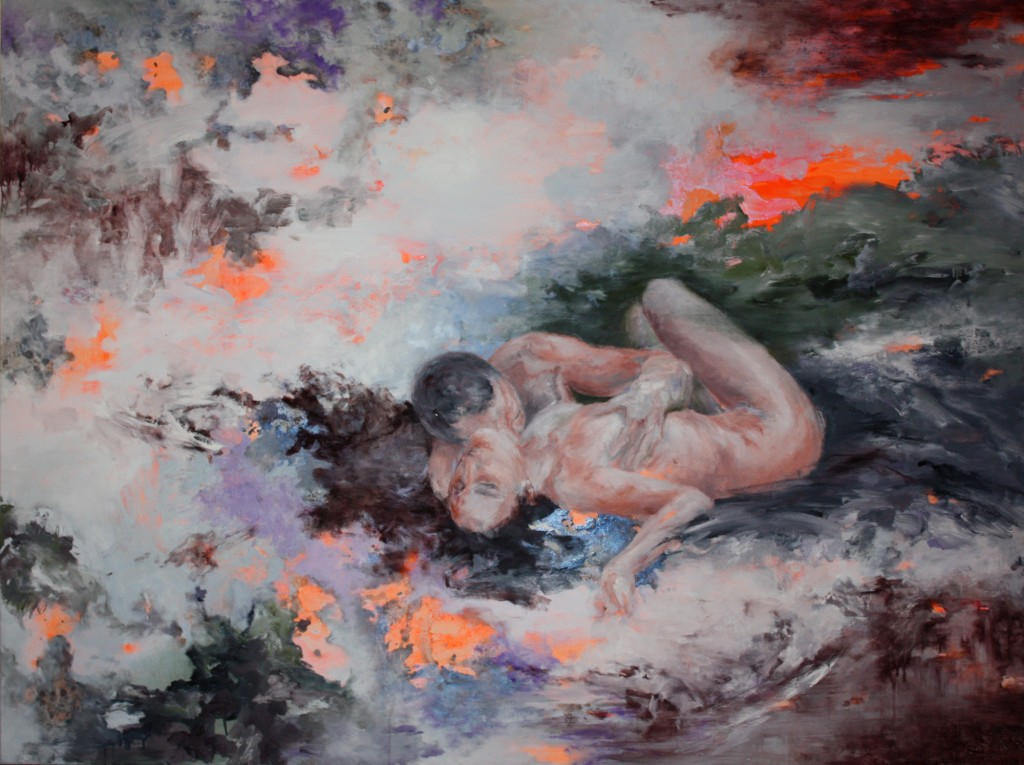 Smooth Vampire, 2012 Oil on canvas 150x200cm