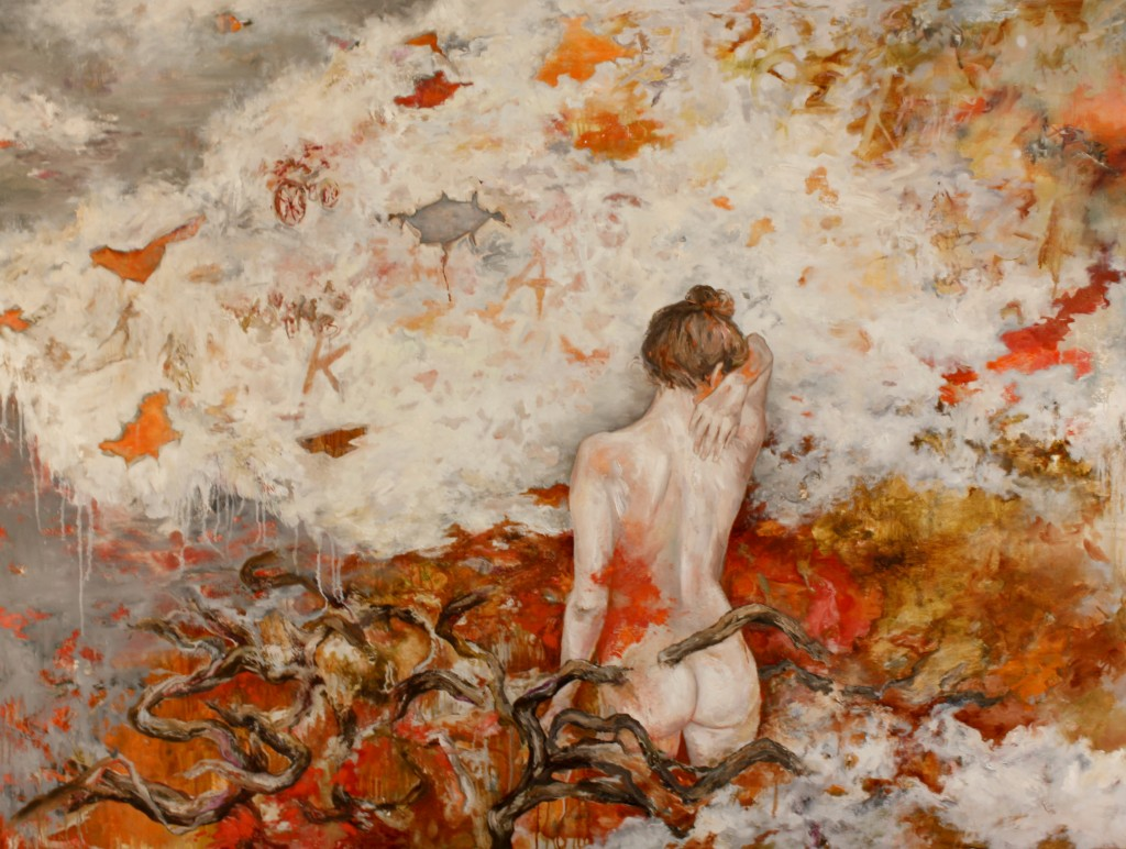 Mind Travel, 2013 Oil on canvas 150x200cm