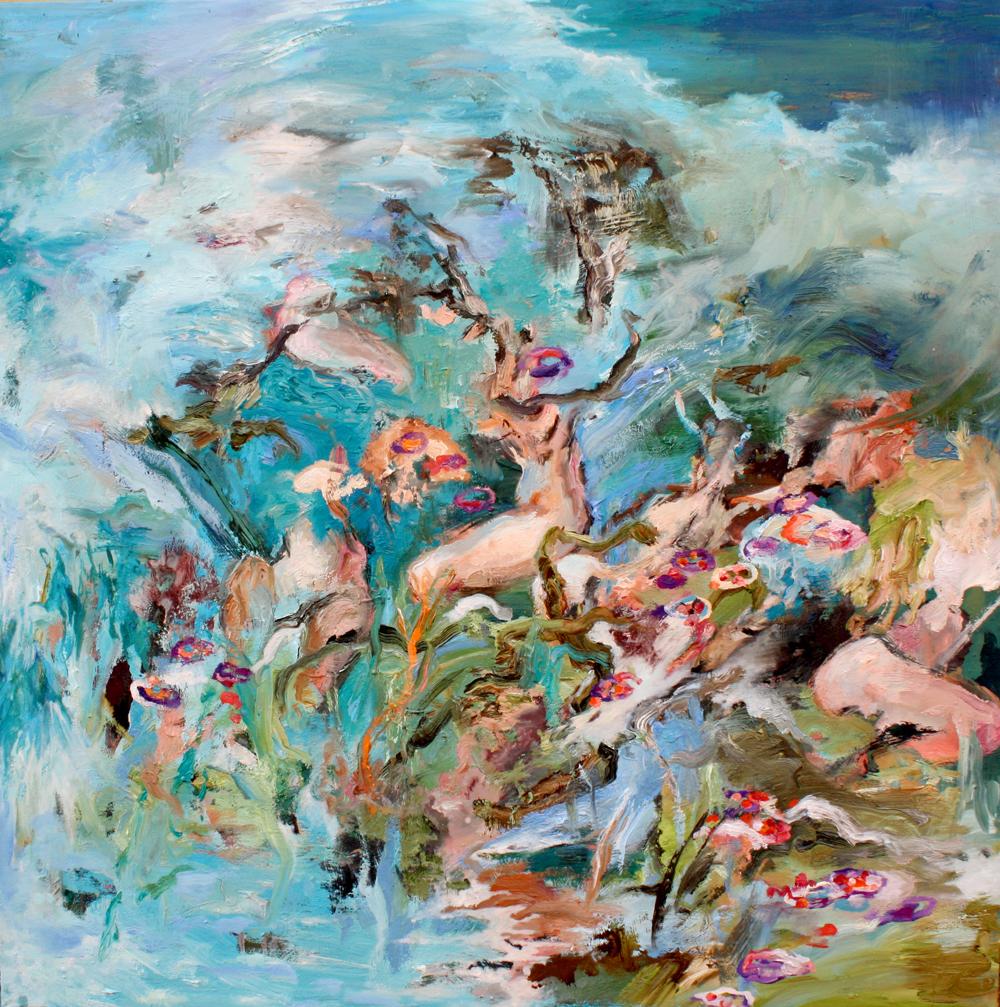 Strawberry Fields, 2014 Oil on canvas 70x70cm