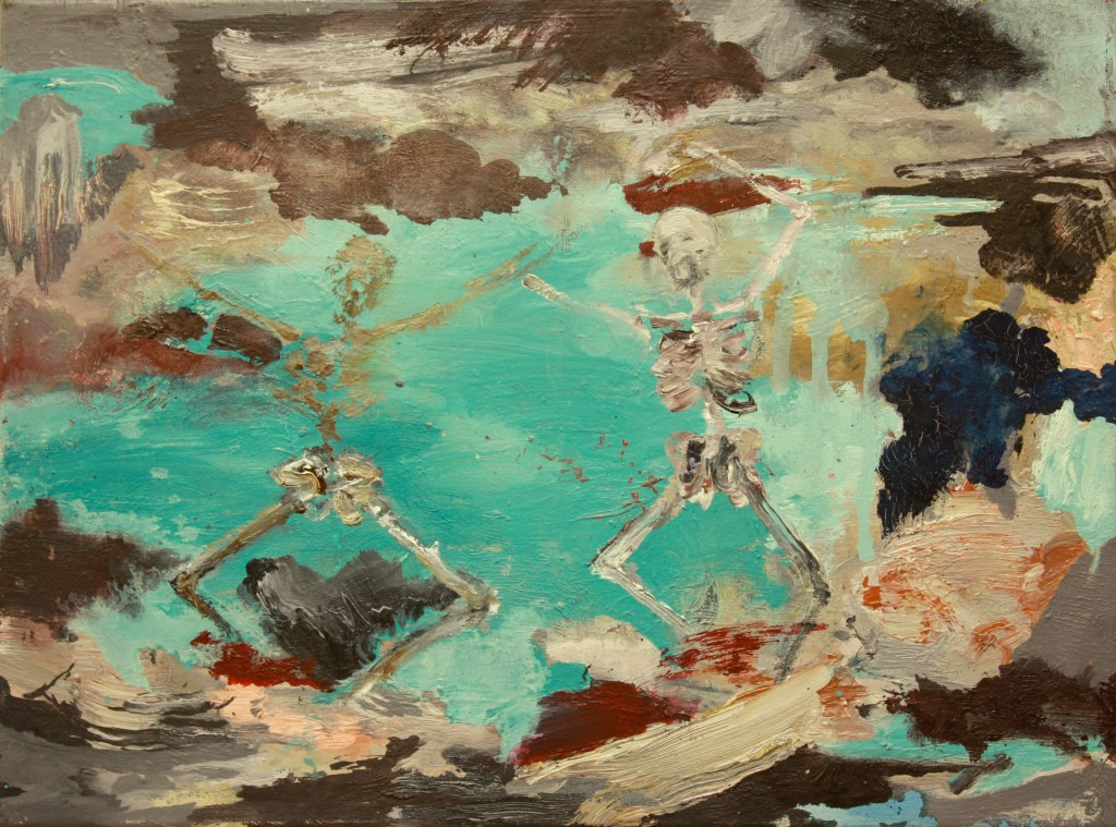 Ominous Dance, 2010 Oil on canvas 25x35cm