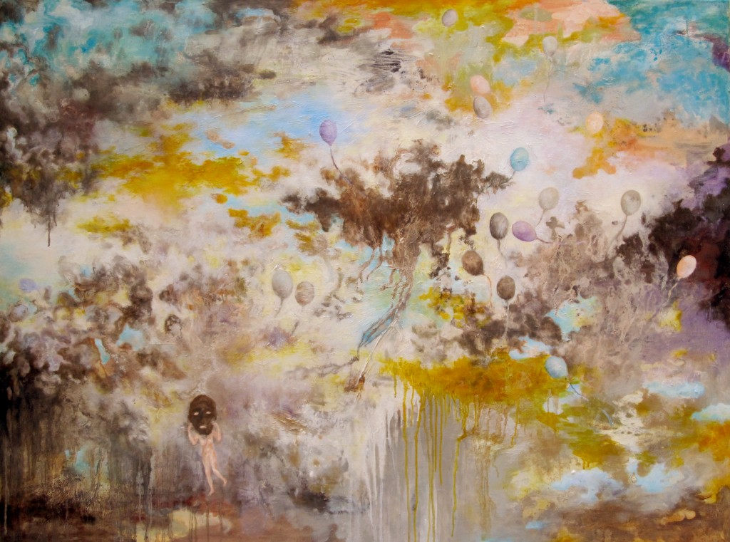 Unbearable Lightness, 2014 Oil on canvas 105x140cm