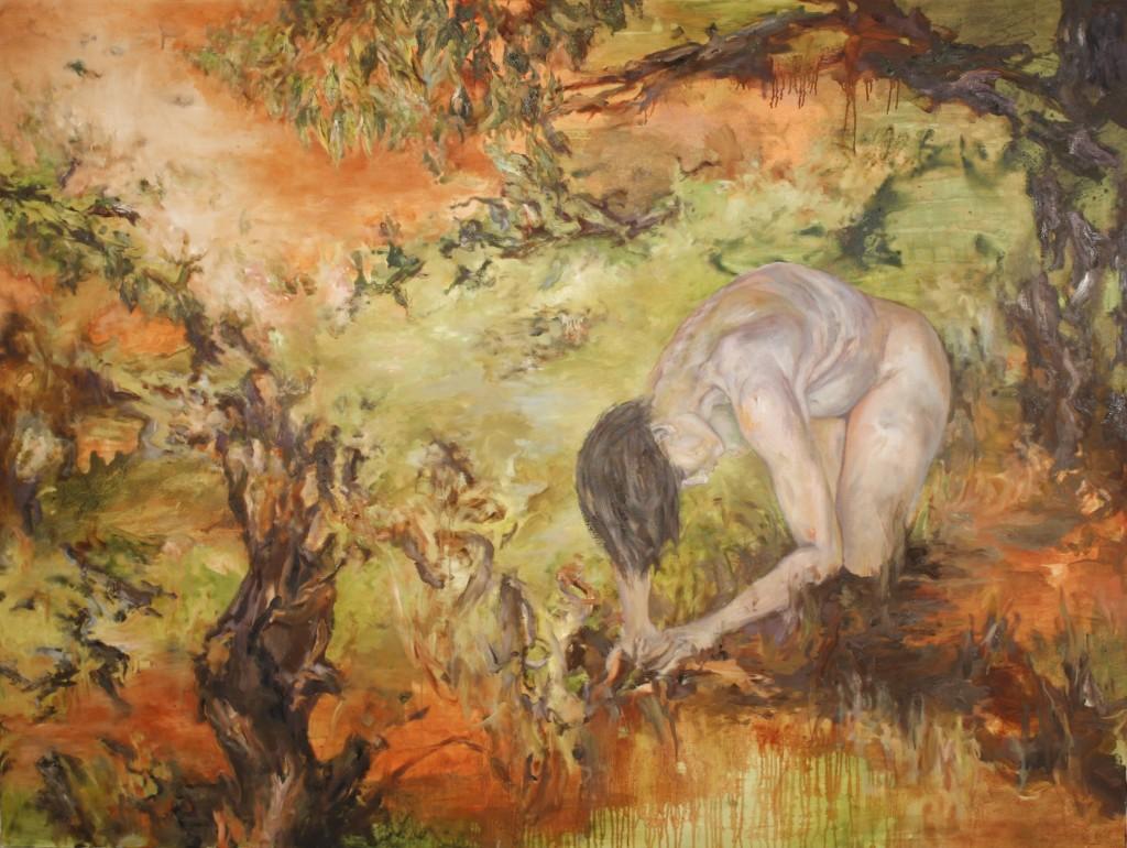 Where Roses Grow, 2013 Oil on canvas 150x200cm