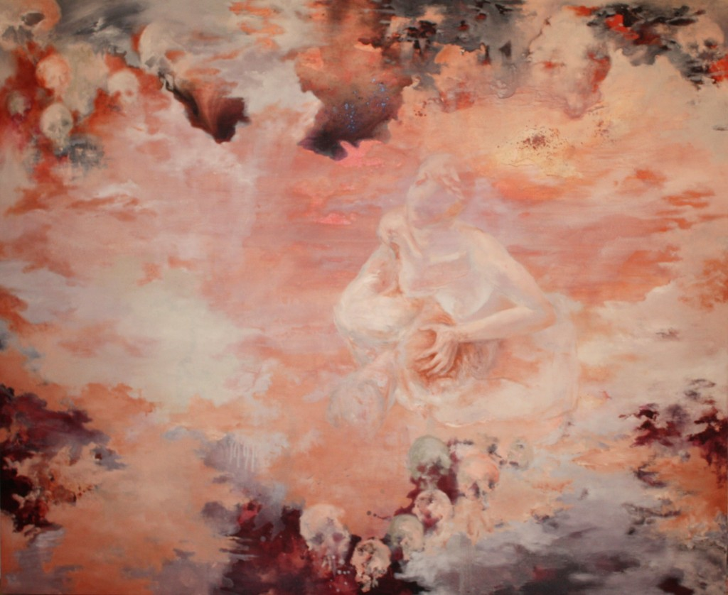Red Touch of Poetry, 2012 Oil on canvas 162x197cm