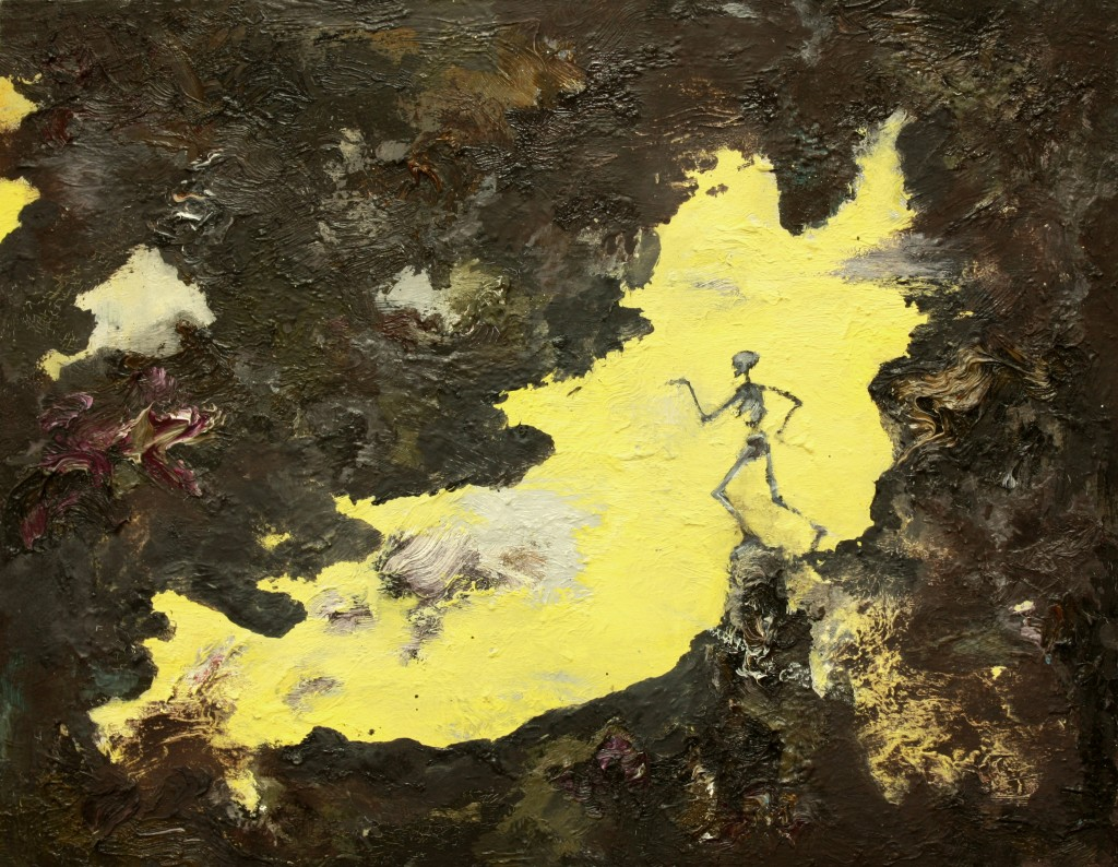 Black Gold Dance, 2011 Oil on canvas 35x45cm