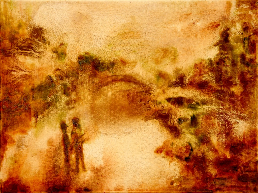 Faraway Bridge, 2014 Oil on canvas 30x40cm