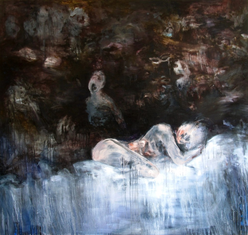Ghosts of Love, 2015 Oil on canvas 190x180cm