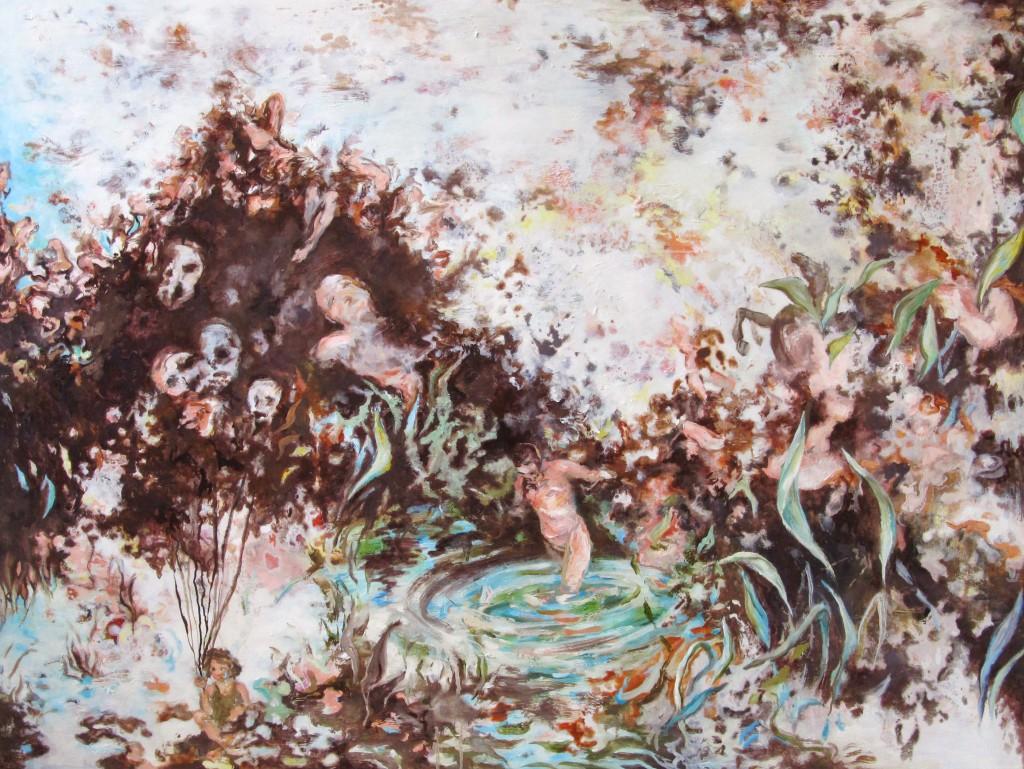 Lucid Dream, 2015 Oil on canvas 105x140cm